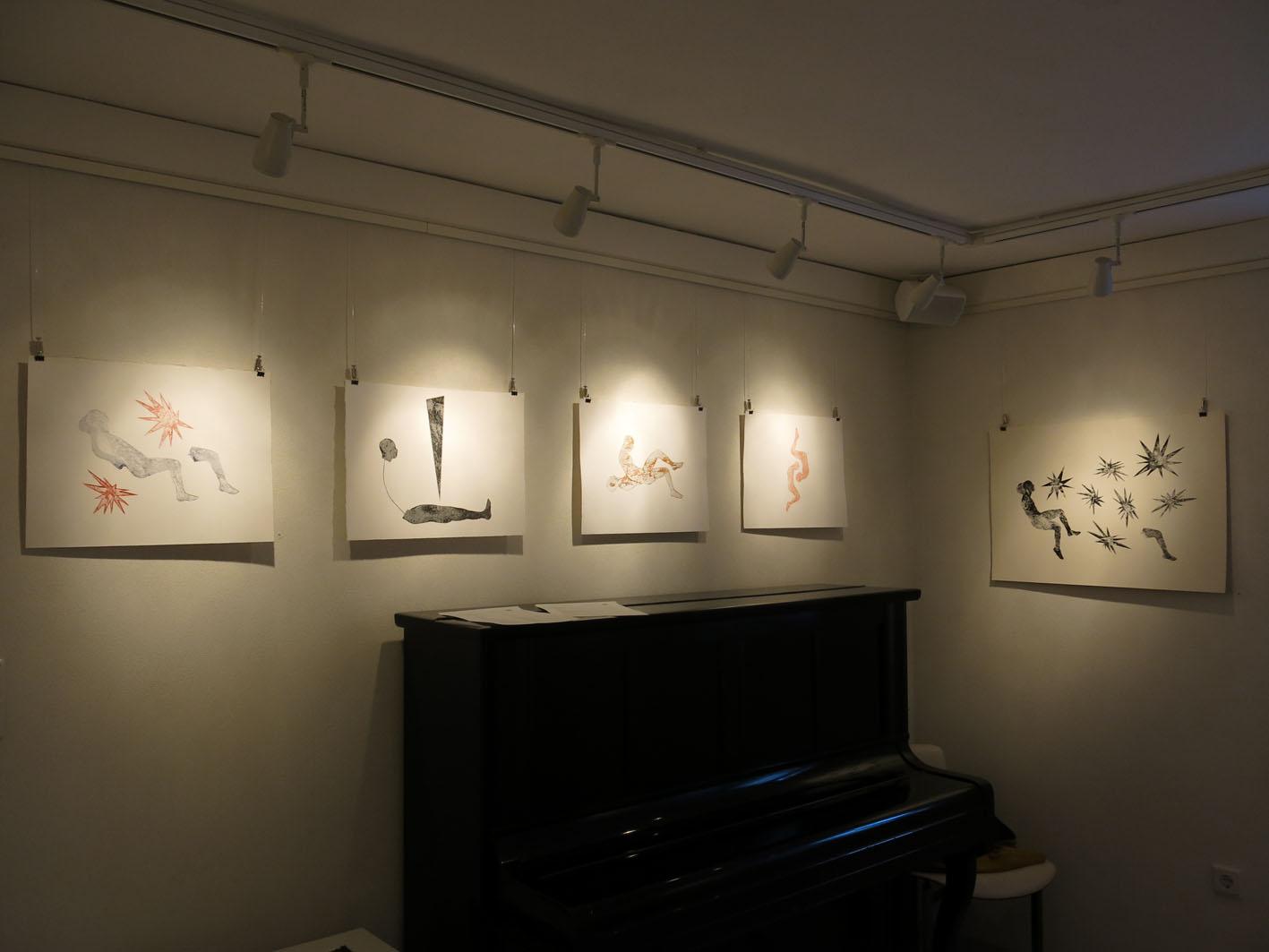 Ausstellungsansicht: Druckwerke