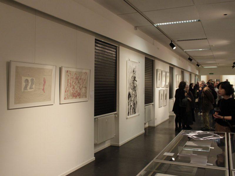 Ausstellungsansicht: Im Dialog
